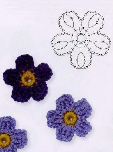 Free patterns page 4 daknit enjoy ini pula bunga yang saya kait ccuart Images