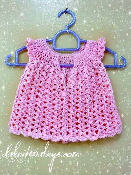 Mengait baju baby page 3 daknit angel dress for a sweet baby girl ccuart Images