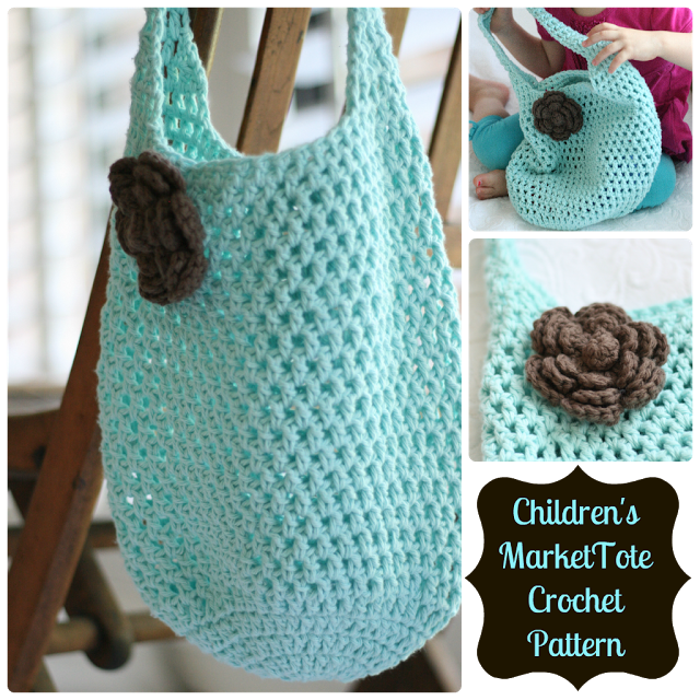 Free Crochet Tote bag by Daisy Cottage Design – Da\'Knit